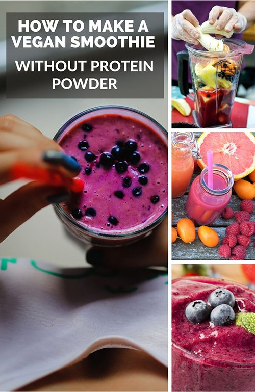 make a vegan smoothie without protein